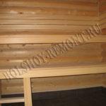 Деревянные полки для бани