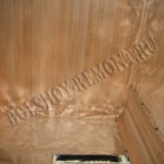 Потолок в сауне
