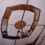 Подвесной потолок с зеркалом