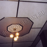 Изготовление подвесного потолка
