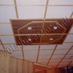 Подвесной потолок в загородном доме