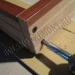 Установка дверной коробки из мдф своими руками 80