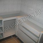 Изготовление тумбы с ящиками