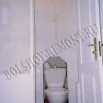 Изготовление шкафчика в туалете