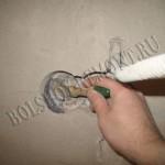 Установка подрозетника в бетон