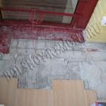 Демонтаж плитки и стяжки