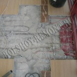 Демонтаж участка стяжки