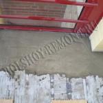 Ремонт стяжки на балконе
