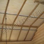 Деревянный каркас потолка