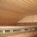 Изготовление потолка в предбаннике