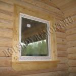 Подоконники и наличники на окнах