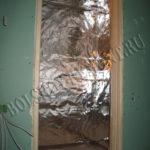 Пароизоляция стен в сауне