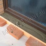 Заливка дверных порогов