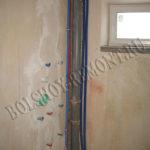 Душевая комната до ремонта