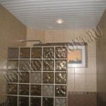 Изготовление реечного потолка