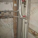 Водоснабжение ванной комнаты