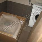 Душевая кабина в упаковке