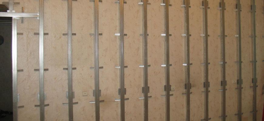 Металлический каркас на стены